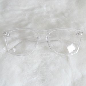 """Accessories - """"See Clearly"""" Clear Lens Acetate Fashion Glasses"""